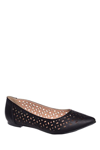 Newport Pointed Toe Flat