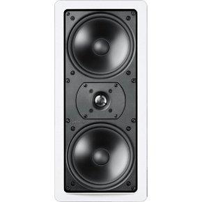 Definitive Technology Uiw75 Rectangular In-Wall Speaker (Single, White)