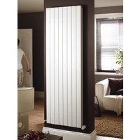 AGADON P1 Duplex white designer radiator 1800 x 445mm