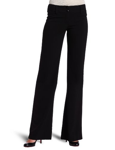 A. Byer Juniors Tropical Cambridge Trouser Pant, Black, 9