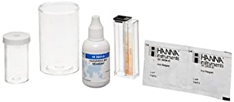 Hanna Instruments HI3889 Iron and Total Hardness Test Kit for 100 Tests