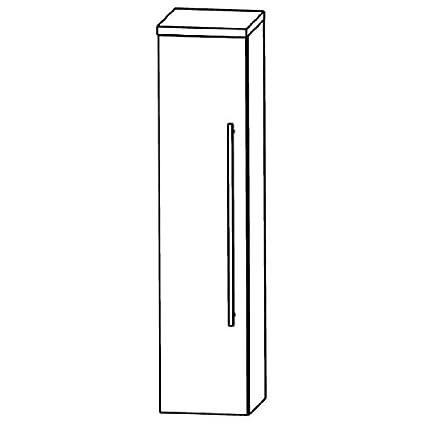 In Star Line Bathroom Furniture Cupboard (MNA844A7L/R), 40cm