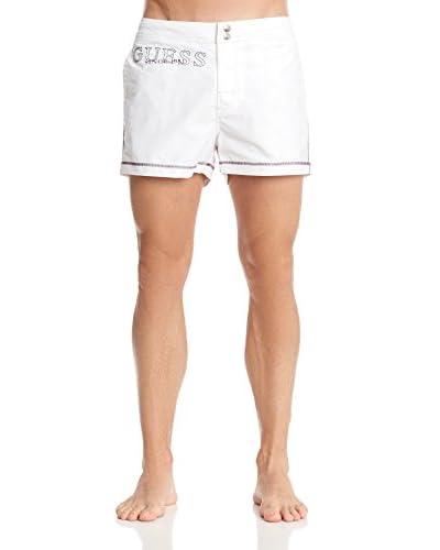 Guess Shorts da Bagno [Bianco]