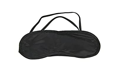 Black Sleep Sleeping Eye Mask Blindfold