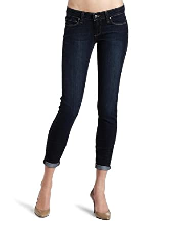 PAIGE Women's Skyline Ankle Peg Classic Rise Jean, Super Rebellious, 24