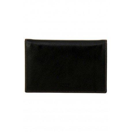 Texier pelle porta carta Edson 5982_noir