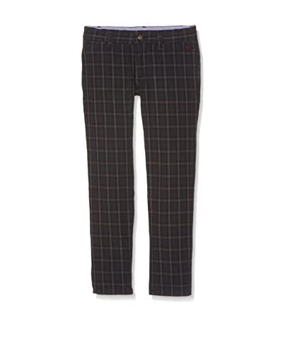 Hackett London Pantalone Check Trousers B [Blu Scuro]