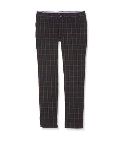 Hackett London Pantalone Check Trousers B [Blu Scuro]