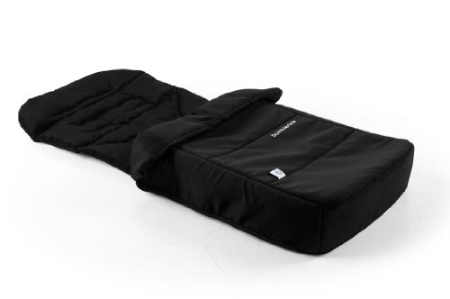 Bumbleride Footmuff And Liner, Jet Black