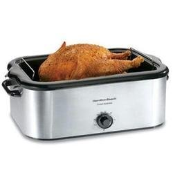 Hamilton Beach 32229 Electric Stainless Steel 22 Quart Counter-Top Roaster Oven