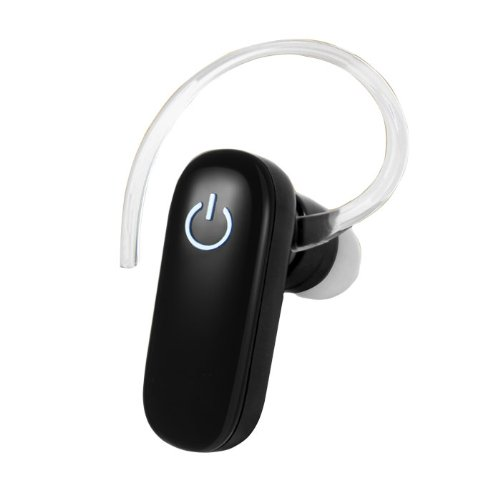 New Bluetooth Headset V3.0 For Motorola Motocubo A45 Cell Phone - One Touch Design - Weights Only 7 Grams - Better Sound V3.0