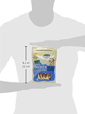 Good Boy Dog Treats Crunchy Chicken & Calcium Bones, case of 8 x 100g packs