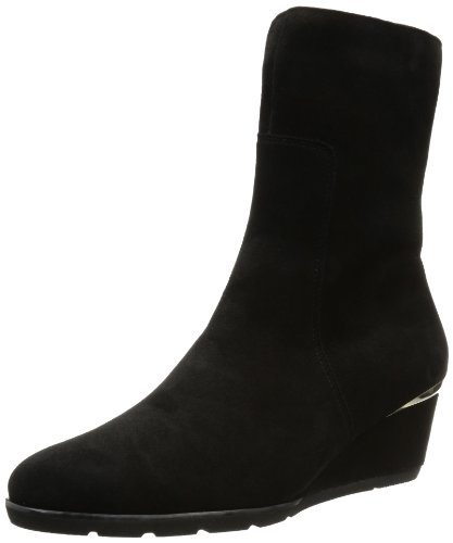Hassia Womens Turin, Weite H Desert Boots Black Schwarz (schwarz 0100) Size: 7 (40.5 EU)