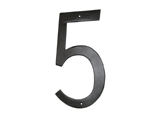 Montague metal products standard font individual house for Classic house number fonts