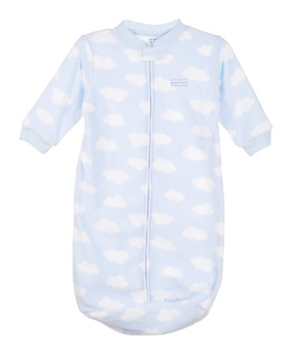 Carter's Blue Sweet Dreams Clouds Baby Sleeping Bag