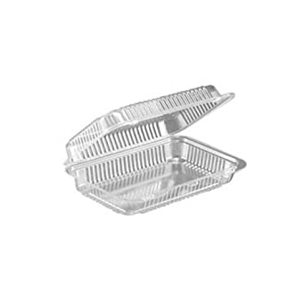 SLP30 Clear Hinged Plastic Bakery Containers: Industrial & Scientific
