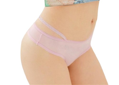 AlohaCc Sexy Lace Briefs T218 (Pink)
