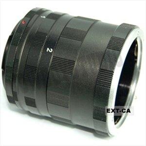 CowboyStudio Canon EOS Macro Extension Tube for Extreme Close-up Shots, Fits Canon 1D, Mark II, III, IV, 5D, Mark II, 7D, 10D, 20D, 30D, 40D, 50D, 60D, Rebel XT, XTi, XS, XSi, T1i, T2i, 300D, 350D, 400D, 450D, 500D, 550D, 1000D