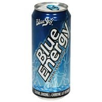Blue Sky Blue Energy Natural Energy Drink, 8.3-Ounce Cans (Pack Of 12) ( Value Bulk Multi-Pack)