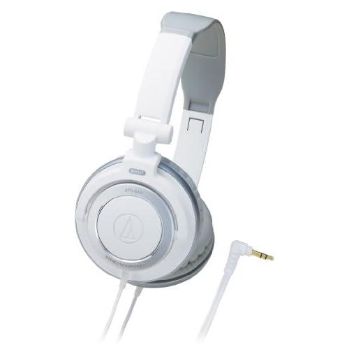 audio-technica ATH-SJ55 whiteの写真01。おしゃれなヘッドホンをおすすめ-HEADMAN(ヘッドマン)-