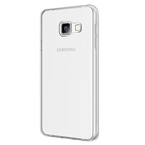 Samsung Galaxy A5 2016 Case, EasyAcc Samsung Galaxy A5 2016 5.2'' Clear Case Soft TPU Crystal Slim Anti Slip Case Back Protector Cover Shockproof--Transparent
