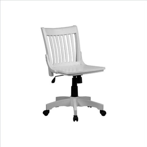 White Wood Chair front-1070738