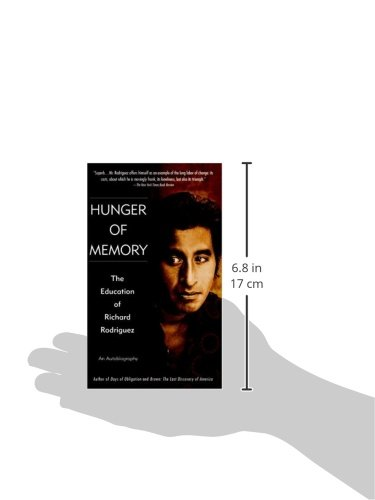hunger of memory chapter summaries Need help with chapter 3: credo in richard rodriguez's hunger of memory check out our revolutionary side-by-side summary and analysis.