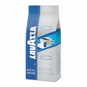 Lavazza 2401 Gran Filtro Italian Light Roast Coffee, Arabica Blend, 2 1/4 oz Packet, 30/Ctn
