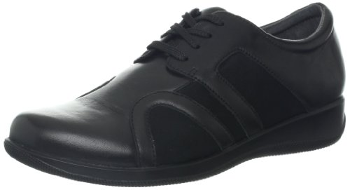 Softwalk Women's Topeka Flat,Black,9.5 W US