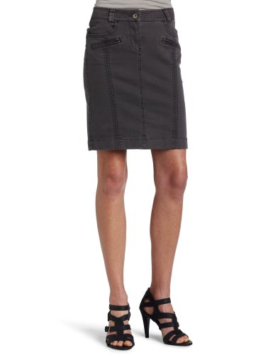 Esprit Womens Over Dye Pencil Skirt