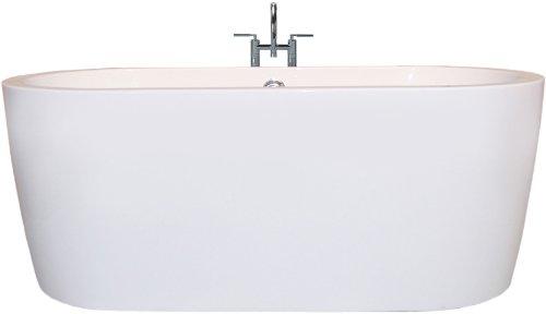 Aquatica PureScape 014C Freestanding Acrylic Bathtub