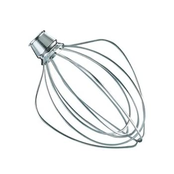 KitchenAid 6-Wire WhipKitchenAid 6-Wire Whip incorporatesthe maximum amount of air in whipped mixtures forfluffier whipped cream and angel food cakes.  Fits4.5 & 5 Qt. stand mixers - models: K45, KSM95 & KSM150, KSM152.