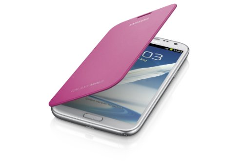 Samsung Galaxy Note 2 Flip Cover Case (Pink) (Galaxy Note 2 Flip Cover compare prices)