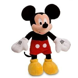"Disney 8"" Mickey Mouse Plush"