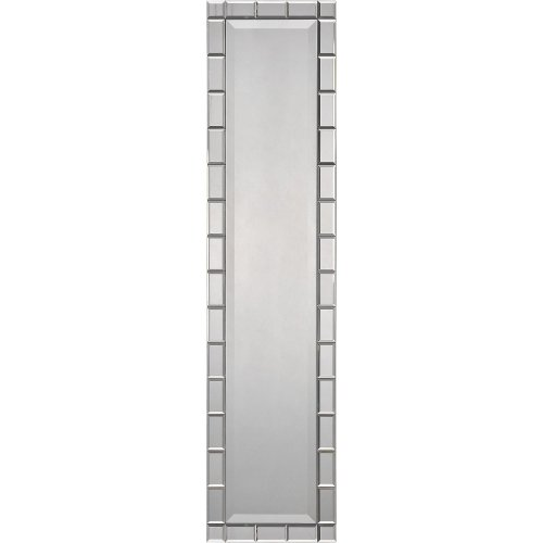 Ren-Wil Ren-Wil Tall Narrow Full Length Wall Mirror - 14W X 60H In., Mirrored, Glass front-846883