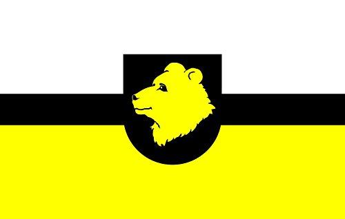Otepää Parish   Otepää valla lipp Bandiera 20x30cm per Diplomat-Flags Bandiere per Auto