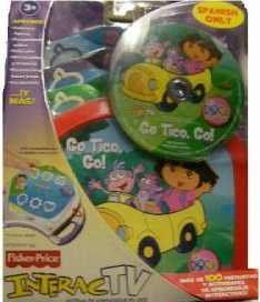 Fisher Price Interac TV - Go Tico Go! Dora the Explorer SPANISH