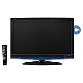 Sharp AQUOS LC32BD60U 32-Inch 1080p LCD HDTV with Built-In Blu-ray Player