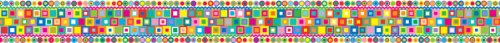 Retro Classroom Bulletin Board Trim Strips
