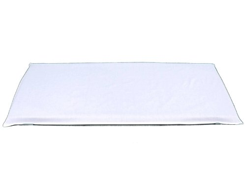 """Creative Colors 601 Fitted Mat Sheet, 24"""" X 48"""", White front-127460"""
