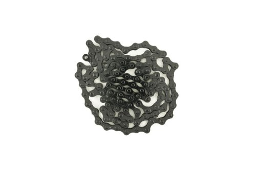 "Kmc Z410 Singlespeed Chain, 1/2"" X 1/8"" X 96L, Painted Black"