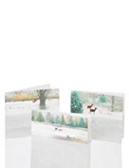 20 Woodland Deer Christmas Multipack of Cards