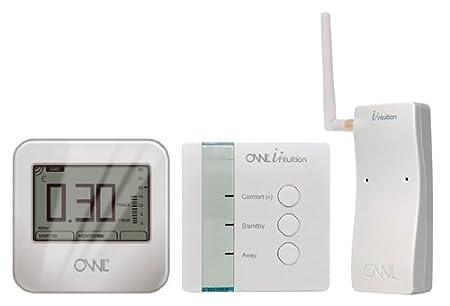 Owl - Thermostat ambiant & micro lot chauffage central Intuition-C programmable Internet contrôleur de température réseau basé web wifi