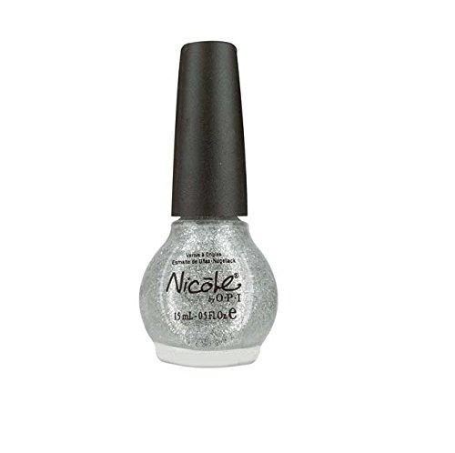 OPI Nicole Scandal, Secrets and Sparkle, 0.5 Fluid Ounce (Opi Silver Nail Polish compare prices)
