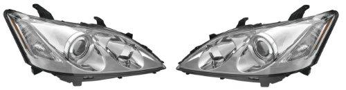 LEXUS ES-350 PAIR HEADLIGHT 07-09 NEW (2007 Lexus Es 350 Headlight Bulb compare prices)