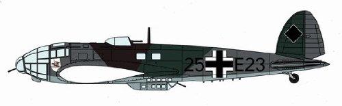 Hasegawa 1/72 Heinkel He111P Old Camouflage Model Kit