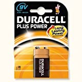 Brand New. Duracell Plus MN1604 Battery Alkaline 9V Ref 75051887