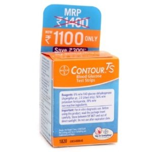 Contour TM TS test strip Size:50 Strips