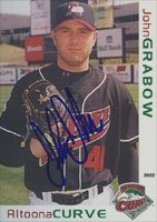 John Grabow Altoona Curve - Pirates Affiliate 2002 Grandstand Autographed Hand Signed... by Hall of Fame Memorabilia