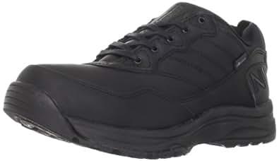 New Balance Men's MW968 Country Walking Shoe,Black,7 4E US